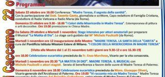 """A Caccamo """"Un Mese con Madre Teresa"""""""