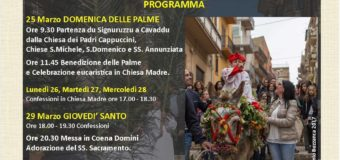 Celebrazioni Settimana Santa 2018 presso la Parrocchia San Giorgio Martire