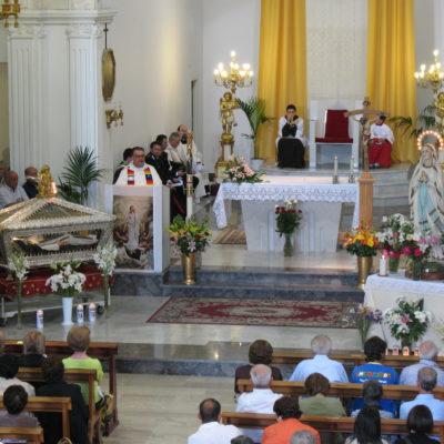 Processione in preghiera 2009