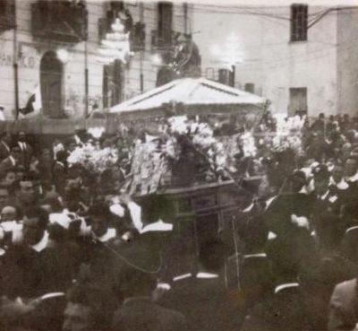 Processione del Beato Giovanni (foto anni '60)