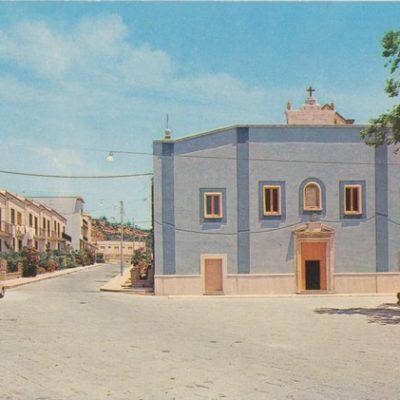 Prospetto della Chiesa Santa Maria degli Angeli (foto anni 70)
