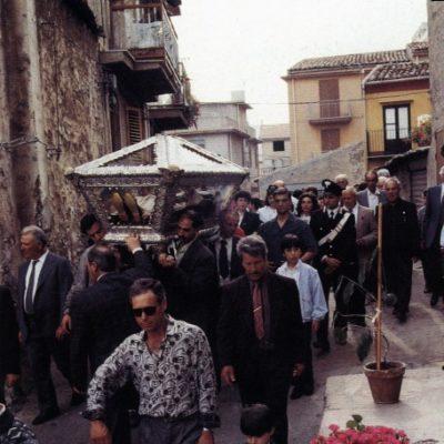 Processione in preghiera del Beato Giovanni (1991)