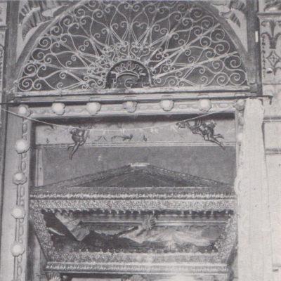 Antica cappella del Beato Giovanni costruita nel 1557 (oggi non più esistente)