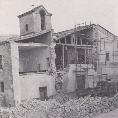 Lavori di restauro dell'interno e della facciata della Chiesa Santa Maria degli Angeli (Anni 60-70)