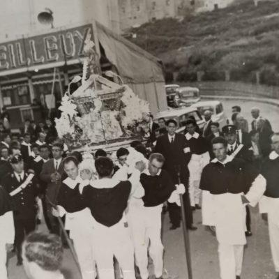 Processione del Beato Giovanni (foto fine anni '60)
