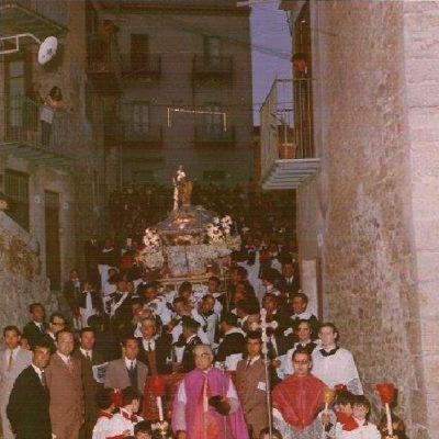 Processione del Beato (foto anno 1969)