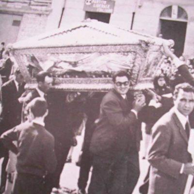 Processione in preghiera del Beato (anno 1965)
