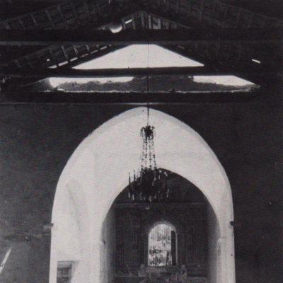 Lavori di restauro all'interno della Chiesa (anni 60-70)