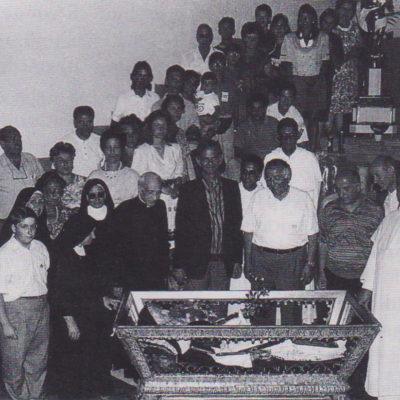 Ricognizione delle reliquie del Beato (anno 1991)