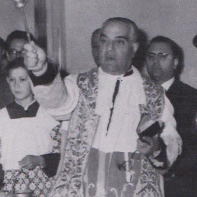 Mons. Teotista Panzeca (rettore della chiesa Santa Maria degli dal 1947 al 1974)