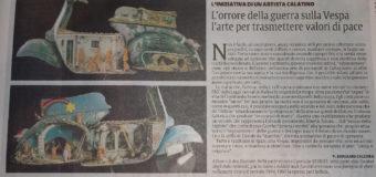 L'orrore della guerra sulla Vespa, l'arte per trasmettere valori di pace – di P. Giovanni Calcara