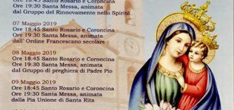 Festeggiamenti in onore della Madonna del Buon Consiglio