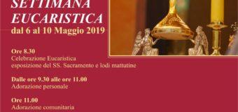 Settimana Eucaristica 2019