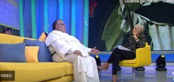 """Padre Giovanni Calcara ospite del programma televisivo """"bel tempo si spera"""" su TV2000"""